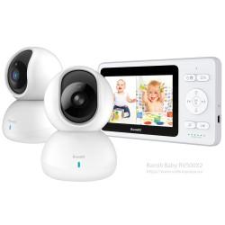 Видеоняня Ramili Baby RV500X2 для присмотра за двумя детьми и не только