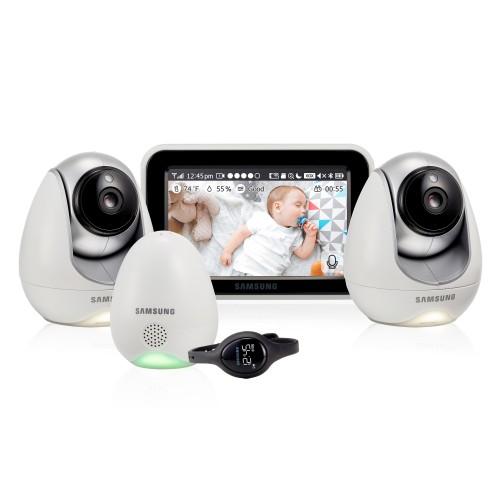 Видеоняня Samsung SEW-3057WPX2 (2 камеры, доступ через интернет)