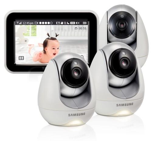 Видеоняня Samsung SEW-3053WPX3 (3 камеры в комплекте)