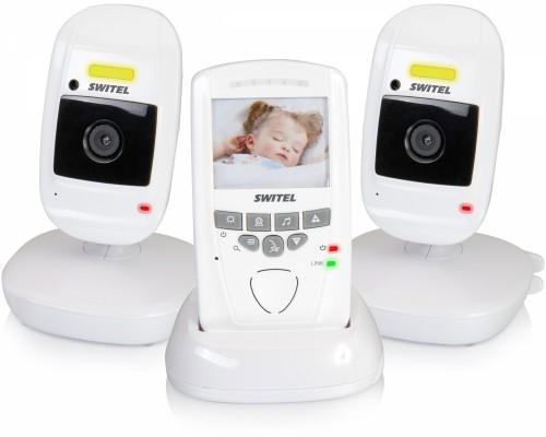 Видеоняня Switel BCF857 Duo (две камеры, двухсторонняя, ночник, термометр)