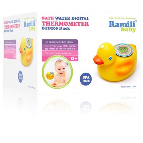 Термометр для детской ванночки Ramili BTD100 Duck