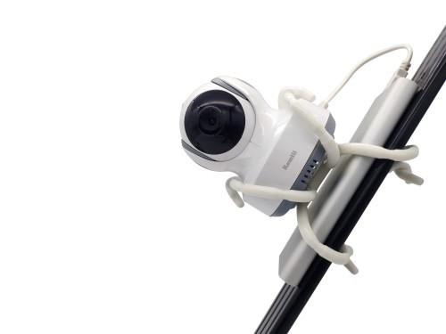 Универсальное гибкое крепление для камеры видеоняни к коляске или кроватке (Spider Fix 100)
