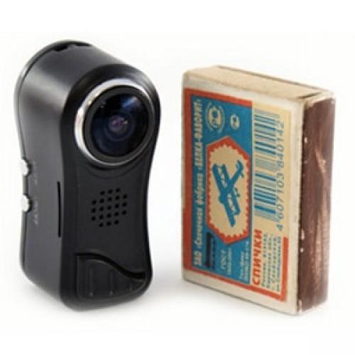 Мини видеокамера Ambertek QQ7 HD 1080p с датчиком движения и углом обзора 185