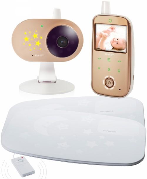 Видеоняня Ramili Baby RV1200SP2 (с двойным монитором дыхания)