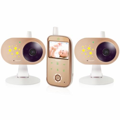 Видеоняня Ramili Baby RV1200X2 (две камеры с аккумуляторами)