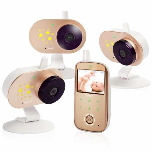 Видеоняня Ramili Baby RV1200X3 (три камеры с аккумуляторами)