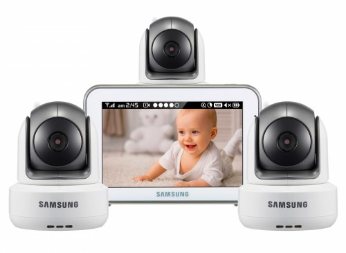 Видеоняня Samsung SEW-3043WPX3 (3 камеры)