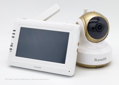 Видеоняня Ramili Baby RV1000 (прямая связь и доступ через интернет)