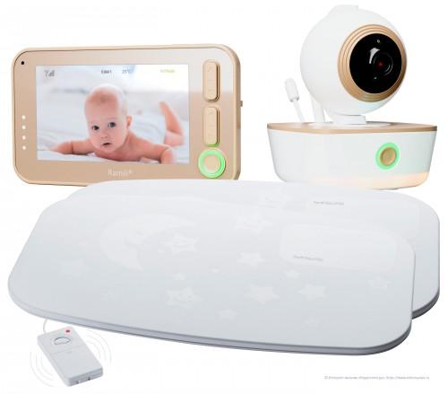 Видеоняня с расширенным монитором дыхания Ramili Baby RV1300SP2