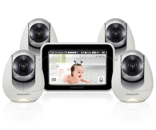 Видеоняня Samsung SEW-3053WPX4 (4 камеры в комплекте)