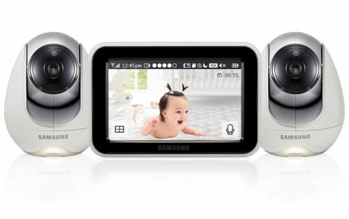 Видеоняня Samsung SEW-3053WPX2 (с двумя камерами, интернет доступ)